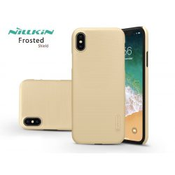 Apple iPhone XS Max hátlap - Nillkin Frosted Shield - gold