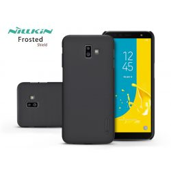 Samsung J610F Galaxy J6 Plus hátlap - Nillkin Frosted Shield - fekete