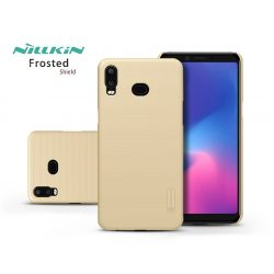 Samsung G6200 Galaxy A6s (2018) hátlap - Nillkin Frosted Shield - gold