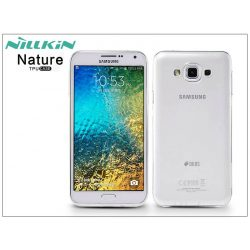 Samsung SM-E700F Galaxy E7 szilikon hátlap - Nillkin Nature - transparent