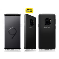 Samsung G965F Galaxy S9 Plus védőtok - OtterBox Clearly Protected Skin - clear