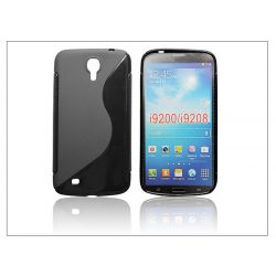 Samsung i9200 Galaxy Mega 6.3 szilikon hátlap - S-Line - fekete