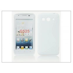 Huawei Ascend G525 szilikon hátlap - S-Line - fehér