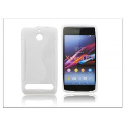 Sony Xperia E1 (D2005) szilikon hátlap - S-Line - fehér