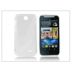 HTC Desire 310 szilikon hátlap - S-Line - transparent