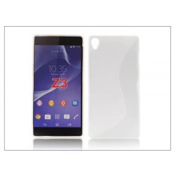 Sony Xperia Z3 (D6603) szilikon hátlap - S-Line - fehér