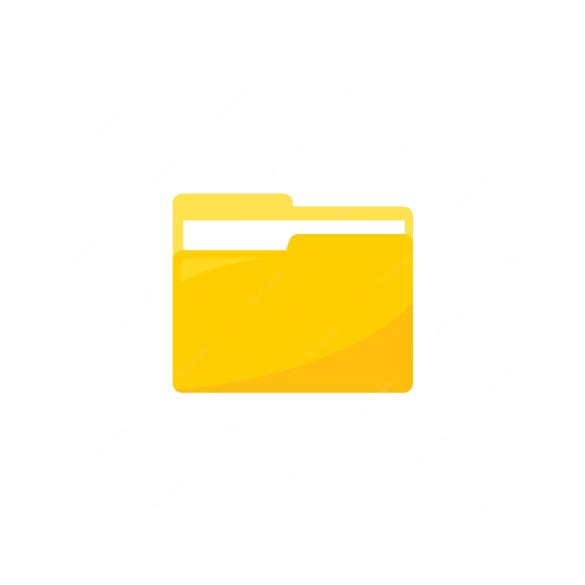 Slim Flexi Flip bőrtok - Samsung SM-G850 Galaxy Alpha - fekete