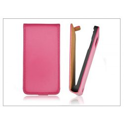 Slim Flip bőrtok - Apple iPhone 6 Plus - pink