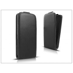 Slim Flexi Flip bőrtok - Sony Xperia C3 (D2533) - fekete