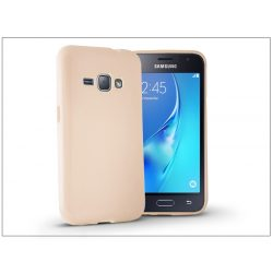 Samsung J120F Galaxy J1 (2016) szilikon hátlap - Jelly Flash - gold