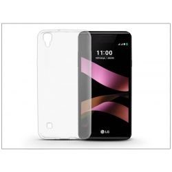 LG X Style szilikon hátlap - Ultra Slim 0,3 mm - transparent