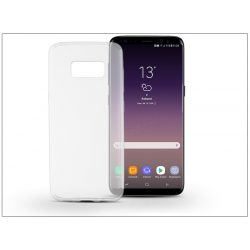 Samsung G955F Galaxy S8 Plus szilikon hátlap - Ultra Slim 0,3 mm - transparent