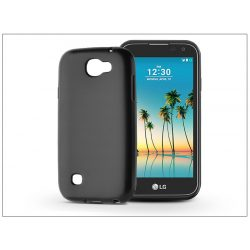 LG K3 (2017) szilikon hátlap - Jelly Flash Mat - fekete