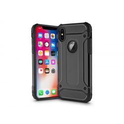 Apple iPhone X ütésálló hátlap - Armor - fekete