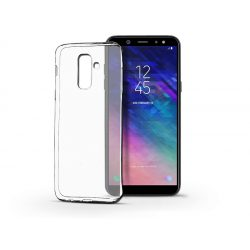 Samsung A605 Galaxy A6 Plus (2018) szilikon hátlap - Ultra Slim 0,3 mm - transparent