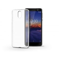 Nokia 3.1 (2018) szilikon hátlap - Ultra Slim 0,3 mm - transparent
