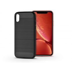 Apple iPhone XR szilikon hátlap - Carbon - fekete
