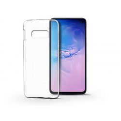 Samsung G970U Galaxy S10e szilikon hátlap - Soft Clear - transparent