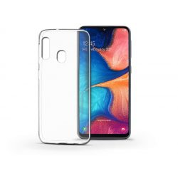 Samsung A202F Galaxy A20e szilikon hátlap - Soft Clear - transparent