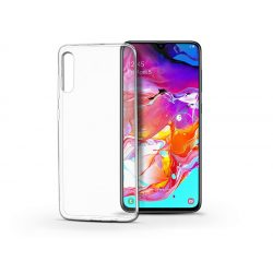 Samsung A705F Galaxy A70 szilikon hátlap - Soft Clear - transparent