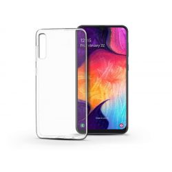 Samsung A505F Galaxy A50/A30s szilikon hátlap - Soft Clear - transparent