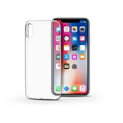 Apple iPhone X/XS szilikon hátlap - Soft Clear - transparent