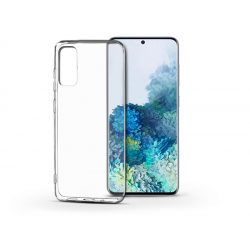 Samsung G980F Galaxy S20 szilikon hátlap - Soft Clear - transparent