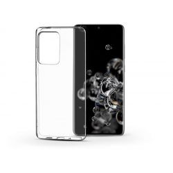 Samsung G988F Galaxy S20 Ultra szilikon hátlap - Soft Clear - transparent