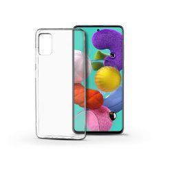 Samsung A515F Galaxy A51 szilikon hátlap - Soft Clear - transparent