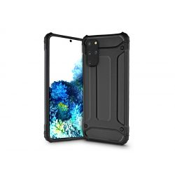 Samsung G980F Galaxy S20 ütésálló hátlap - Armor - fekete