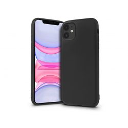 Apple iPhone 11 szilikon hátlap - Soft Premium - fekete