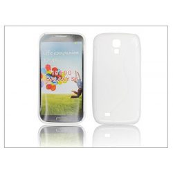 Samsung i9500 Galaxy S4 szilikon hátlap - transparent - S-Line