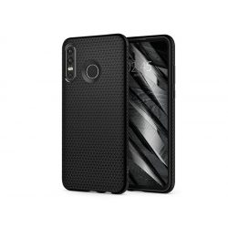 Huawei P30 Lite ütésálló hátlap - Spigen Liquid Air - fekete
