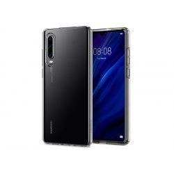 Huawei P30 ütésálló hátlap - Spigen Liquid Crystal - átlátszó