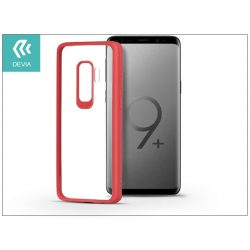 Samsung G965F Galaxy S9 Plus hátlap - Devia Pure Style - red