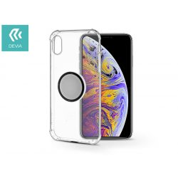 Apple iPhone XS Max hátlap - Devia Grip - transparent
