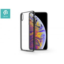 Apple iPhone XS Max hátlap - Devia Glitter - black