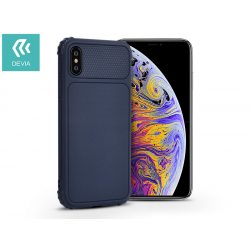 Apple iPhone XS Max szilikon hátlap - Devia Shark-1 - blue