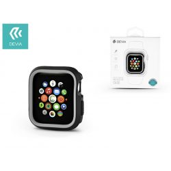 Apple Watch 4 védőtok - Devia Dazzle Series 40 mm - fekete/szürke