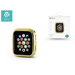Apple Watch 4 védőtok - Devia Dazzle Gold-Plated Series 44 mm - arany