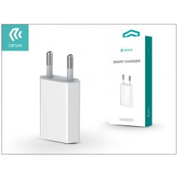 Devia Smart USB hálózati töltő adapter - Devia Smart Charger - 5V/1A - white