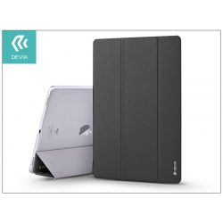 Apple iPad 9.7 (2017) védőtok (Smart Case) on/off funkcióval - Devia Light Grace - black