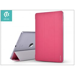 Apple iPad 9.7 (2017/2018) védőtok (Smart Case) on/off funkcióval - Devia Light Grace - pink