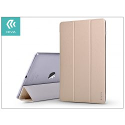 Apple iPad Pro 10.5/iPad Air (2019) védőtok (Smart Case) on/off funkcióval - Devia Light Grace - gold