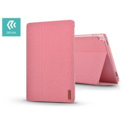 Apple iPad Pro 10.5/iPad Air (2019) védőtok (Smart Case) on/off funkcióval - Devia Flax Flip - pink