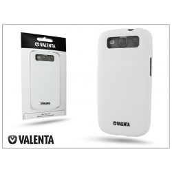 Samsung i9300 Galaxy S III hátlap - Valenta Click-On Matt - white