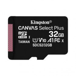 Kingston Canvas Select Plus 32GB MicroSD HC U1 Memóriakártya