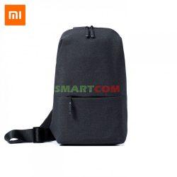 Xiaomi MI City Sling Bag vállpántos hátizsák sötét szürke (DSXB01RM)